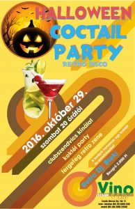 Halloween Coctail Party