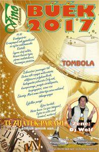 Vino szilveszter 2016